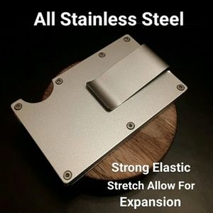 Other - NEW Stainless Steel Money Clip Slim Fit